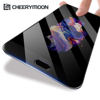 CHEERYMOON TOP Quality 4D Oneplus 5T Tempered Glass Oneplus Glass Full Glue Cover Screen Protector Protective Film One Plus 5T