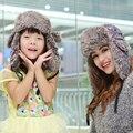 2017 de Algodón Nueva Moda de la Venta Directa de Adultos Otoño E Invierno Sombrero Para Las Mujeres Mantener Caliente Con Orejeras Ruso Bombardero Sombreros