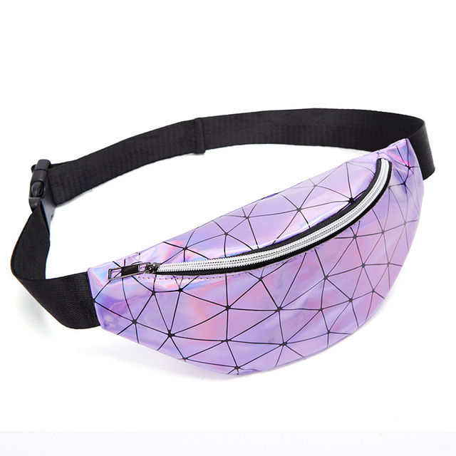 waist bag-purple
