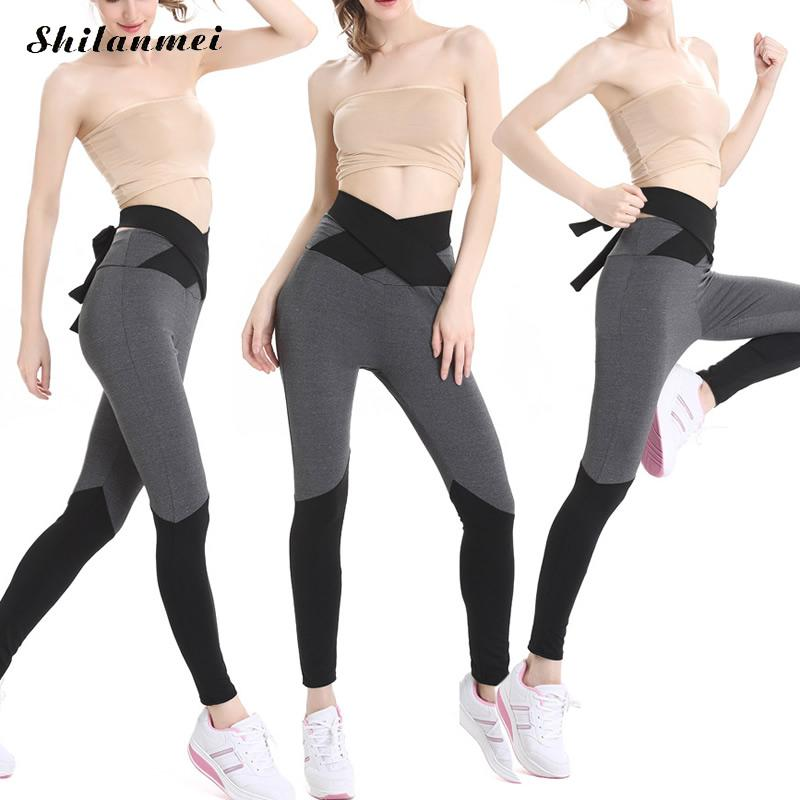 Cross Running Tights Women Sports Leggings Fitness Sports Women Yoga Sport Pants Sexy Gym Leggings Woman Gym Clothes