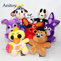 Five Nights at Freddy's Freddy Fazbear Bear Foxy Rabbit Bonnie Chica Plush Toys Soft Stuffed Cartoon Animal Dolls AP0164
