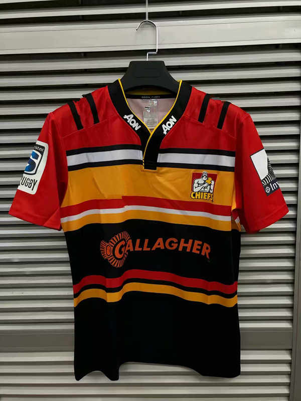 6ff52d074b8 ... 2019 New Zealand Super rugby Jerseys Chiefs Rugby Highlanders Super  Rugby Blues Away hurricanes training jersey