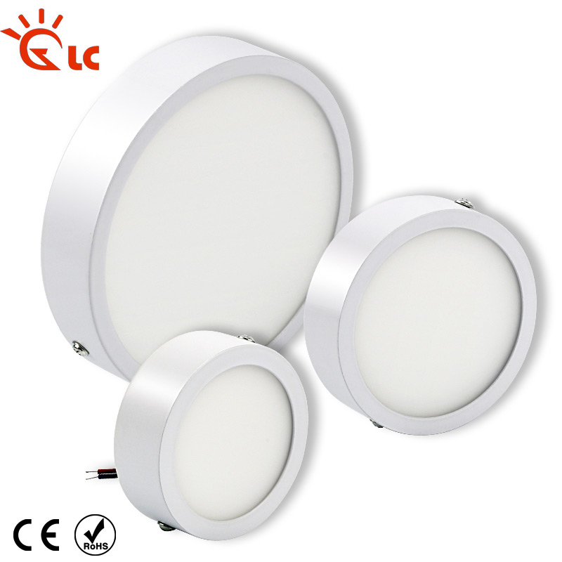 Led Downlights Good Led Panel Light 5w 8w 16w 22w 30w 220v 110v Round Panel Led Aluminum Ultra-thin Surface Mounted Downlight Ceiling Lamp