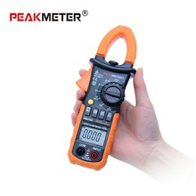 PEAKMETER PM2108 Digital Clamp Meter w Backlight Earth Ground Unit Megohmmeter Resistance Earth Tester Multimeter Multimetro