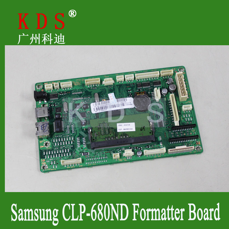 все цены на  5pcs/lot Free Shipping Logic Board CLP680ND CLP680 Formatter Board Main Board JC9202528B  онлайн