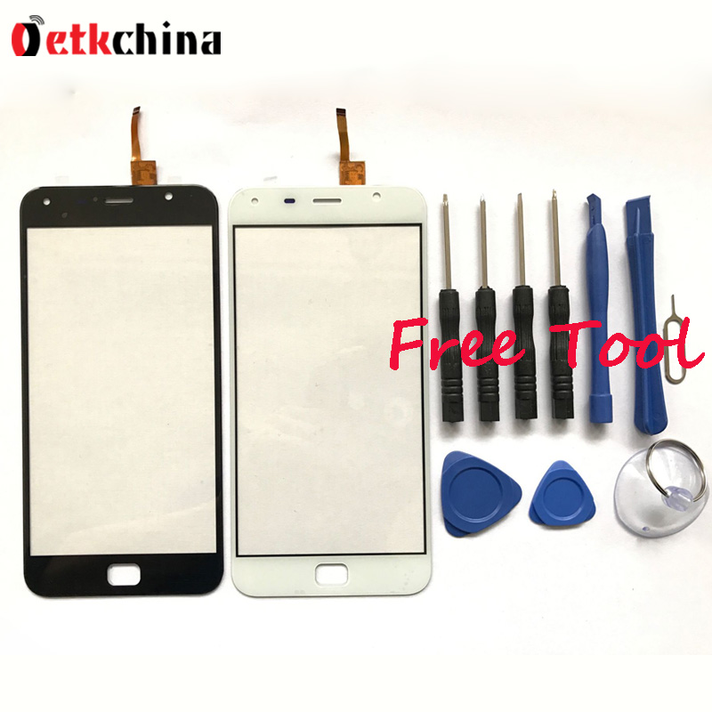 UMI Touch Digitizer 100% New Touch Screen Perfect Repair Parts Touch Panel For UMI Touch X Mobile Phone Free Shipping + Tools