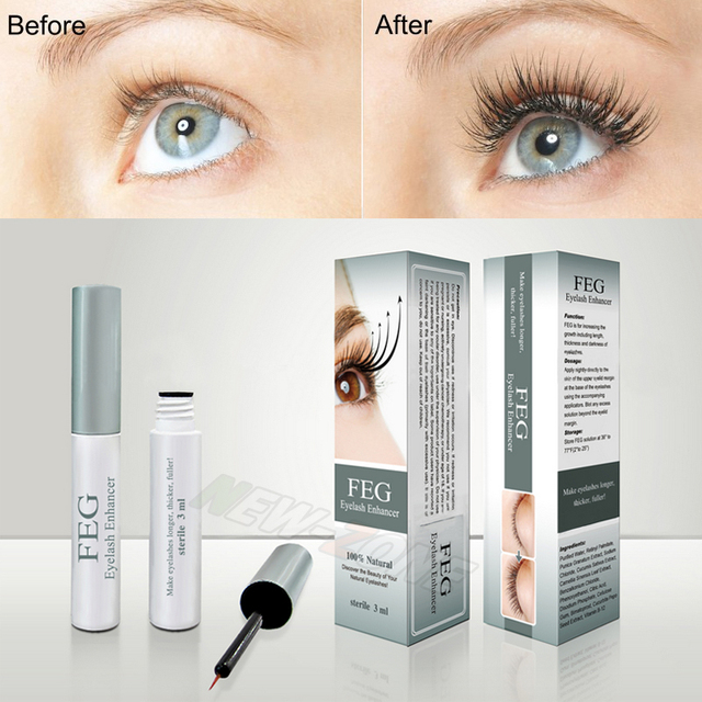 FEG Eyelash Enhancer Serum 3ML Strong Effective Growth Result Fast 100% Original