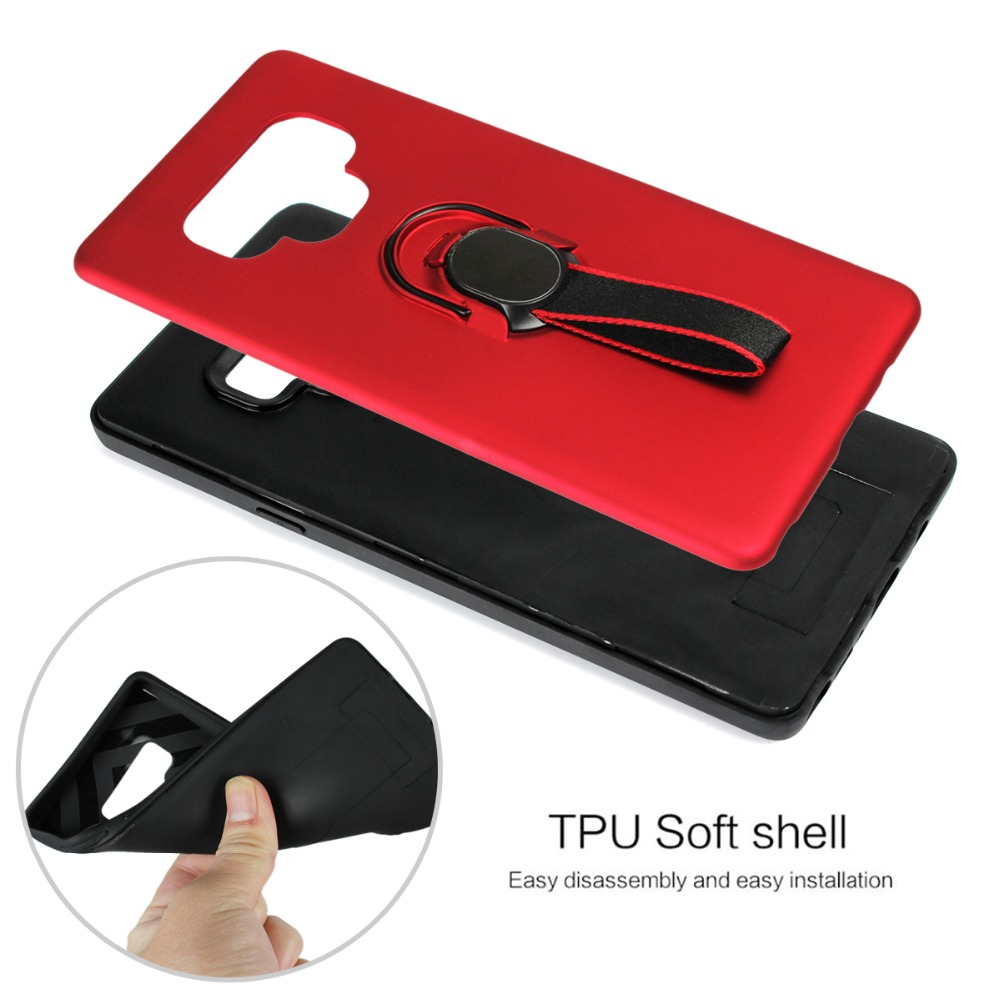 Suntaihuo for samsung galaxy note 9 Case note 8 S7 S7edge cover for samsung galaxy s9 case Stand soft case S8 Plus phone holder