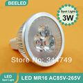 12V MR16 3W LED spotlight 2pcs/lot Free shipping led Lighting Epistar High Power 300LM GU10 E27 E14 MR16 spotlight led Bulb Lamp