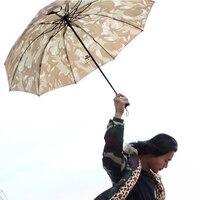 Outdoor Fishing Hiking Golf Beach Camouflage Umbrella Hat Cap Fishing Sun Shelter Folding Sunscreen