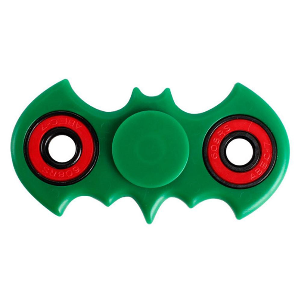 Top Batman Finger Fidget Spinner Fast Bearing Black Hand Tri EDC Relieve Stress ADHD Toy In Spinning Tops From Toys