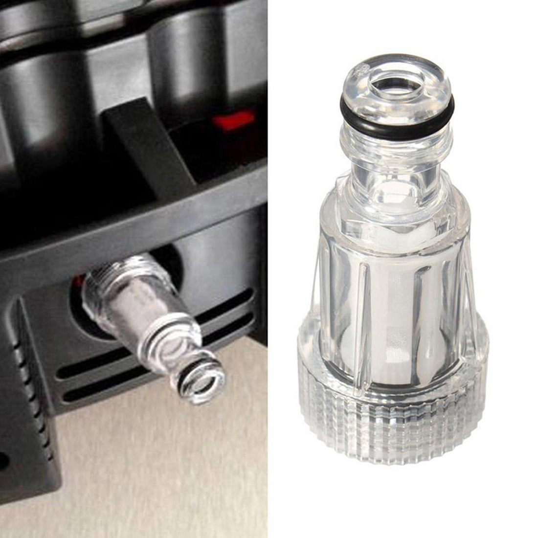 Image 2 - Car Washing Machine Water Filter High pressure Connection Fitting For Karcher K2 K7 Series Pressure Washers