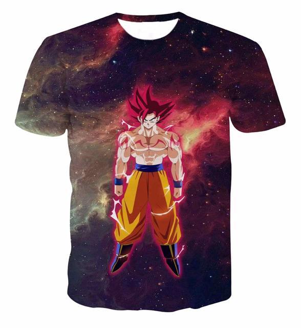Galaxy Space Anime Dragon Ball Z Goku 3D
