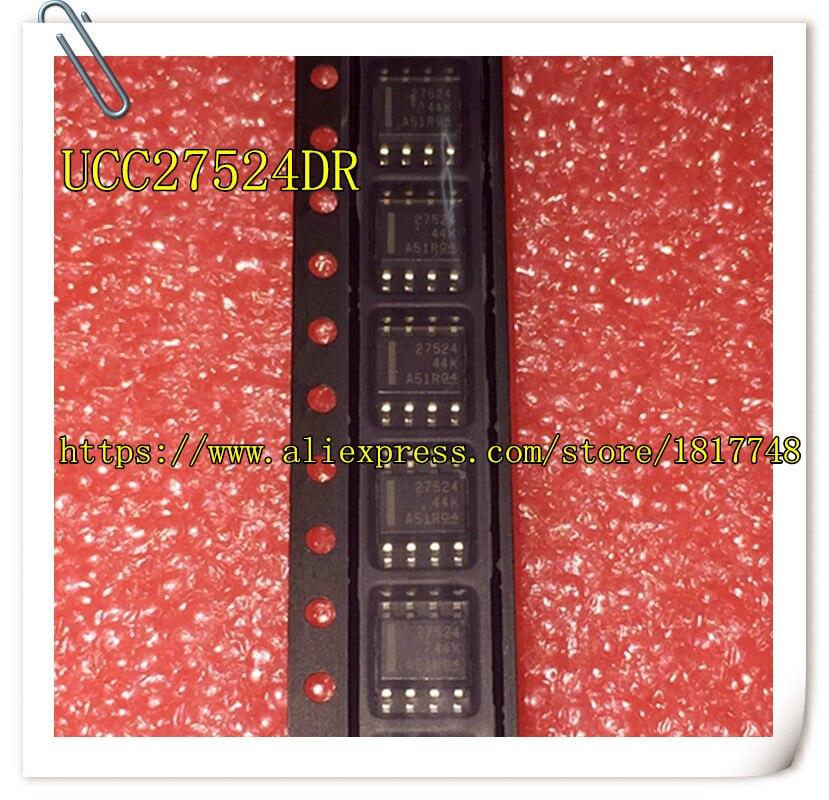 10PCS/LOT UCC27524DR UCC27524 27524 SOP-8 Bridge Driver New Original