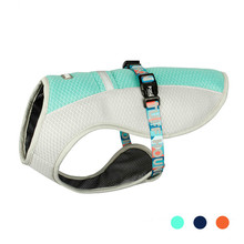 Summer Dog Cooling Vest Clothes Harness For Dogs Adjustable Pet Mesh Reflective Harnesses Quick Release Hot