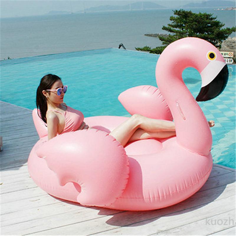 Inflatable-Flamingo-Giant-Pool-Float-unicorn-60-Inch-1-5m-Swan-Summer-Swimming-Ring-Flamingo-Pool (3)