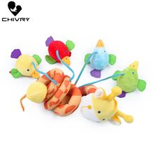 Chivry Cute Giraffe Baby Crib Revolves Around The Bed Stroller Plush Stuffed Rattles Bed Toys Baby Plush Dolls Hanging Bell Toys baby mobile musical bed stroller playing crib bed hanging bell baby toys for tots baby rattles for kids soft plush stuffed toy