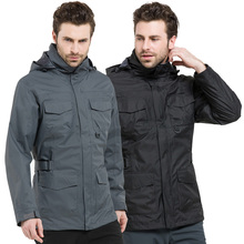 Male Three in one Fleece Pressure plastic Two-piece suit ski Mountaineering outdoor Jackets