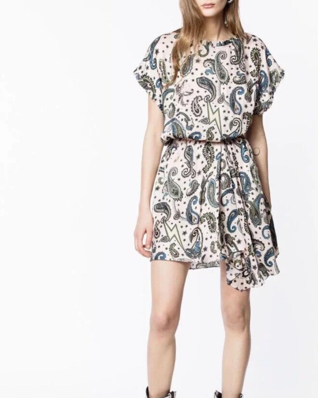 Women Dress 2019 Spring Summer floral Print irregularly Mini Dress