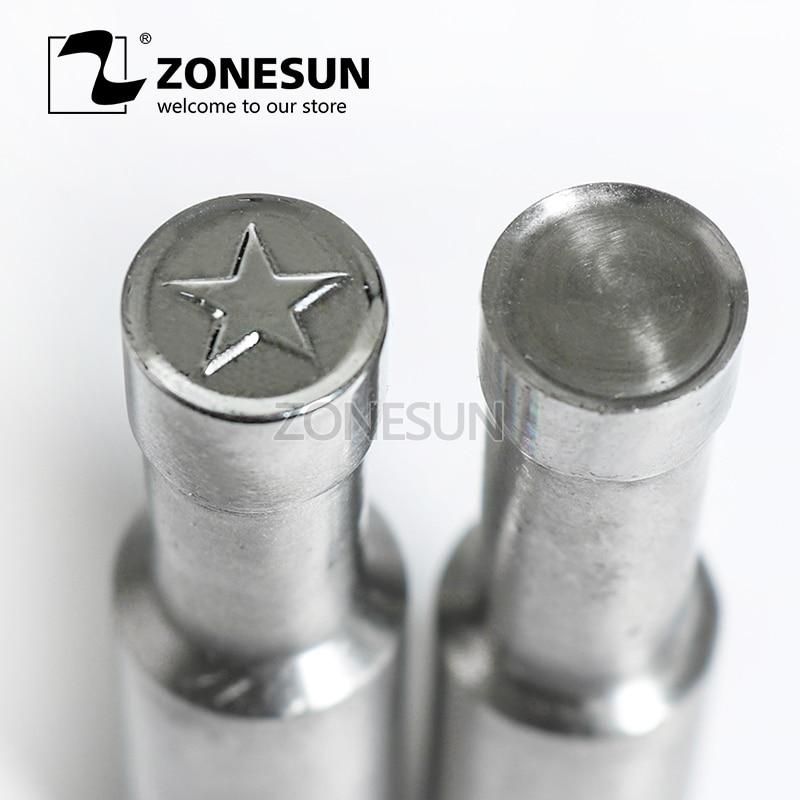 ZONESUN Star logo custom round candy milk tablet slice die Stamp precision punch die mold sugar tablet press tool TDP 0/1.5/3 цены