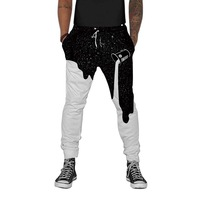 10 шт оптом мужские 3D джоггеры брюки спортивные тренировочные брюки мешковатые радужные DHL для бега