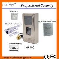Горячие продаж контроля доступа оборудования, MA300 контроля доступа по отпечаткам пальцев, удостоверение личности источника питания, электр