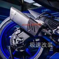 2017 New Universal Motorcycle Exhaust Pipe Carbon Fiber Escape Modified Moto Laser Heat Shield Cover For