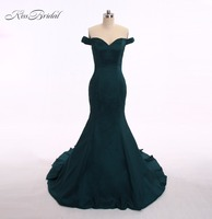 Robe De Soiree Mermaid Long Evening Dresses Off Shoulder Sexy Party Elegant Vestido De Festa Long