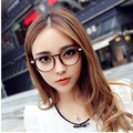 2016  Classic Retro Clear Lens Nerd glasses frame fashion brand designer men women Glasses Vintage Half Metal Eyeglasses Frame