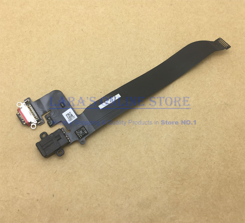 Original Tested For Oneplus 5 A5000 USB Charging Port Dock Connector Board Flex Cable With Earphone Audio Jack Replacement Parts