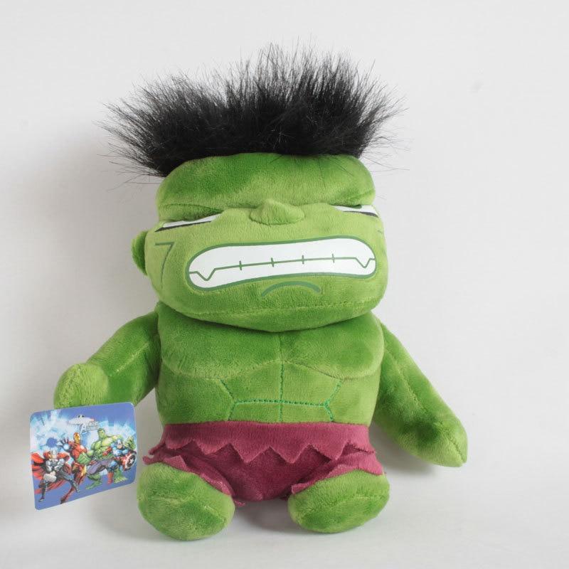 7 87 Q version hulk plush font b toy b font soft stuffed dolls gift