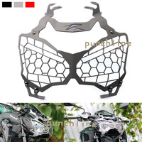 For KAWASAKI Z900 Z 900 2017 Motorcycle Accessories Headlight Grille Guard Cover 3 Colors