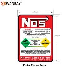 Новая азотная бутылка этикетка наклейка 10# NOS Замена 10 фунтов