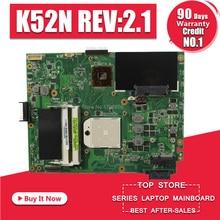 K52N материнская плата REV: 2,1 Для ASUS X52N K52N K52D Материнская плата ноутбука K52N материнская плата K52N тест 100% ОК