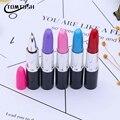 TOMTOSH/красивая шариковая ручка, креативная губная помада, ручка для школы, офиса, канцелярские принадлежности, Цветные Шариковые Ручки - фото