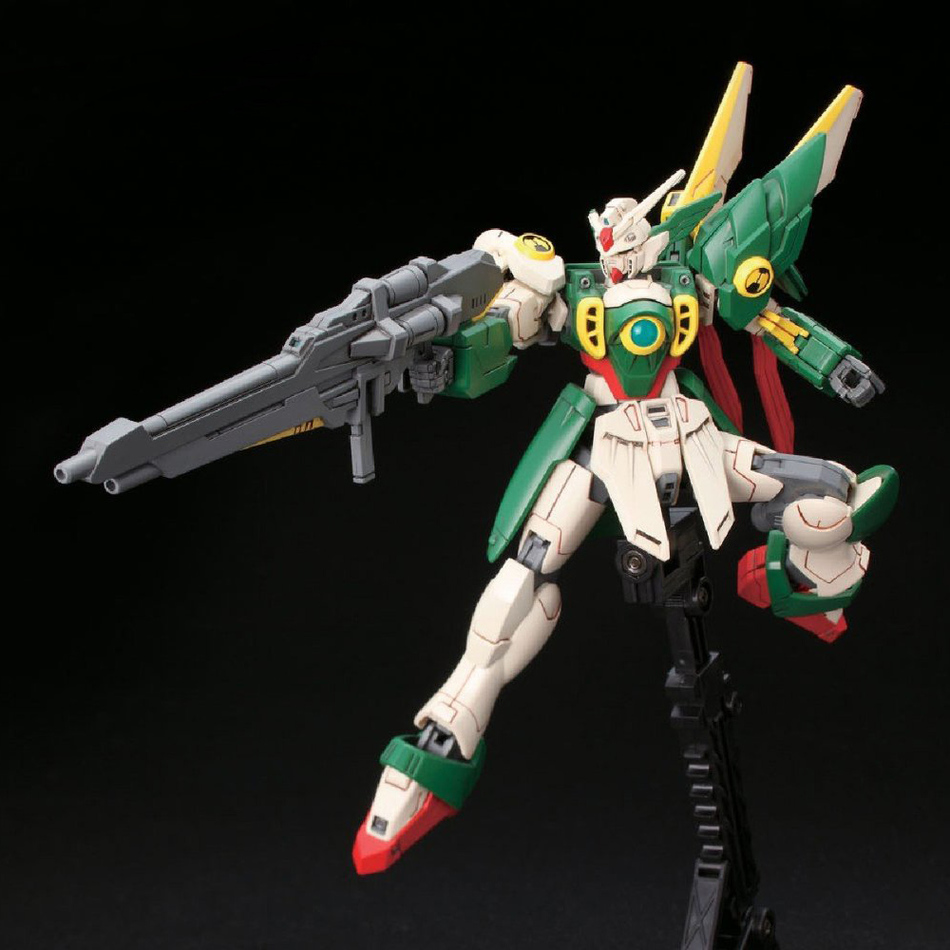 Image 3 - Anime Gaogao 13cm HG 1/144 Wing Gundam Fenice XXXG 01WF model hot kids toy action figuras assembled Phoenix Robot puzzle gift-in Action & Toy Figures from Toys & Hobbies