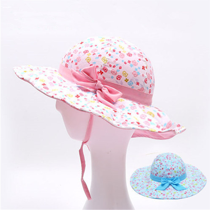 Hats For Girls Baby Tiny Cottons 2018 Summer Winds Up Sunscreen Hat  Adjustable Beautiful Fashion Hats Baby Girl Accessories-in Hats   Caps from  Mother ... 96be158e3dd