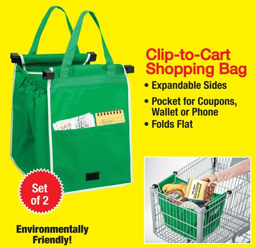 New-Grab-Bag-2-Piece-Reusable-Ecofriendly-Shopping-Bag-Large-capacity-Foldable-cart-square-pocket-Reusable(2)