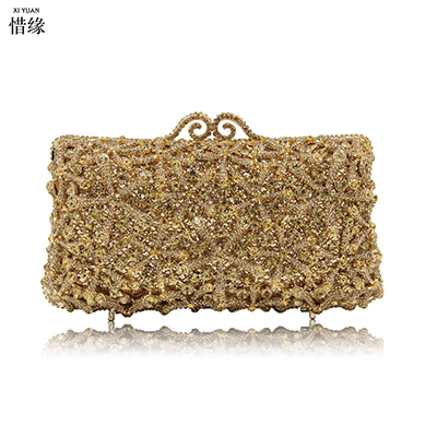 XIYUAN BRAND  Evening Bags Cocktail Crystal Clutches Outlet Cheap Special Occasion Bags Discount Designer Purses for WeddingsXIYUAN BRAND  Evening Bags Cocktail Crystal Clutches Outlet Cheap Special Occasion Bags Discount Designer Purses for Weddings