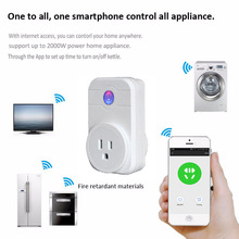 smart socket home Voice control Europe and America wifi ring