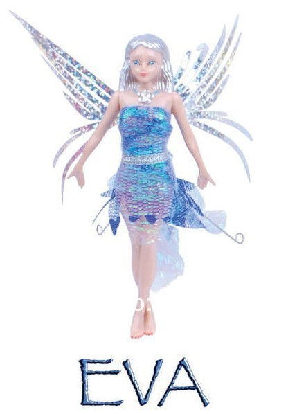 magic Children Fashion doll toy - Flitter Fairies,Flying Fairies Daria, Alexa, Eva,Mara