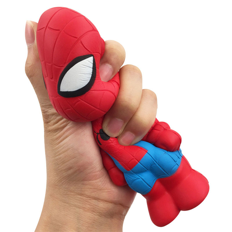 Marvel Avengers Squishy Toys Soft Pu Slow Rising Squishies Toys Stress Reliver Funny Doll For Children Workers Pocket Toys 15CM