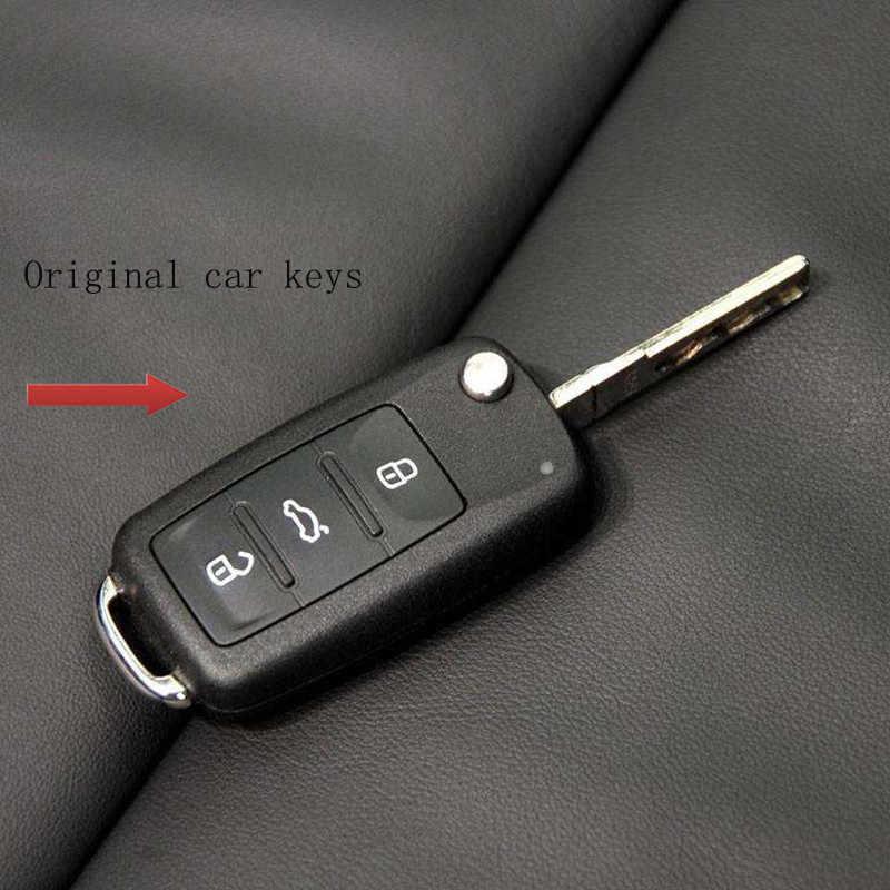 Gran oferta, funda para llave de coche, funda de silicona para llave, carcasa para Volkswagen polo VW para passat b5 golf 4 5 6 jetta mk6 tiguan