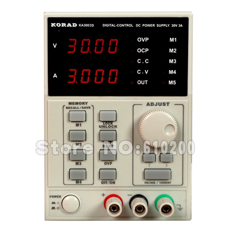 ФОТО KA3003D 30V/3A High precision 10mV/1mA Programme Digital DC Power Supply for Lab R&D Production Phone repair