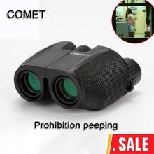 Wholesale High Power HD 10X25 BAK4 Prism green film waterproof binoculars telescope for travel hunting Hot selling