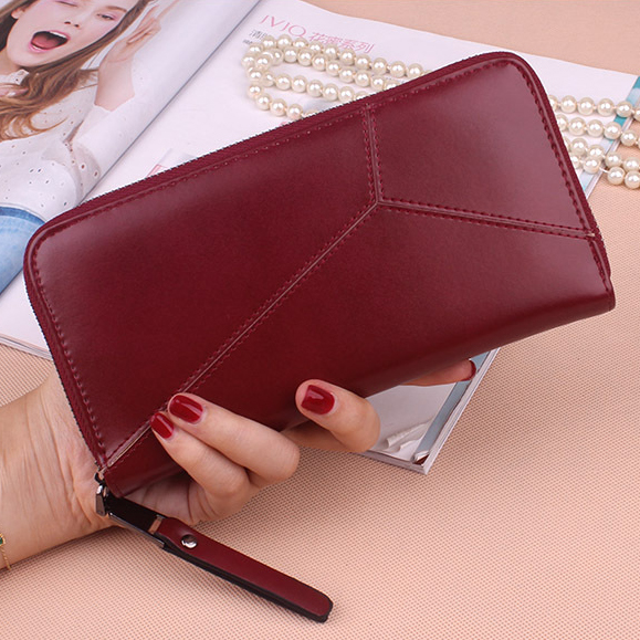 Women Wallet Female Long Zipper Woman Purses Large Capacity Coin Purse Pocket Wallets Brand New Fashion Phone Clutch Money Bags  bvlriga women wallets famous brand leather purse wallet designer high quality long zipper money clip large capacity cions bags