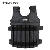 20 50kg Adjustable Weight Vest Men Fitness Weighted Vest Training Exercise Thickening Waistcoat Durable Sand Sparring Protector