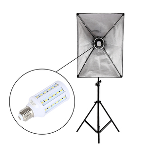 Image 5 - 写真 4 個E27 の 20 ワットledトウモロコシ電球 110 240v 5500 18kホワイト & 黄色光昼光ランプ写真撮影の照明