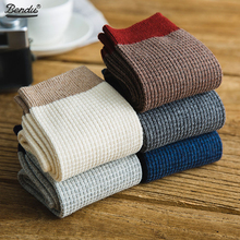 2019 Bendu Brand New Mens Bamboo Socks Spring Summer Crew Fashion Casual Breathable Dropshipping 5 Pairs