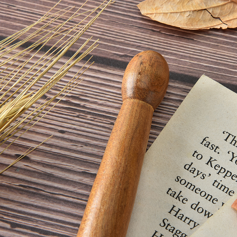 1Pc Holz Fuß Körper Massager Stick Lindern Schmerzen Entspannung Werkzeuge Akupunktur Reflexzonenmassage